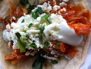 Chicken Tinga Taco