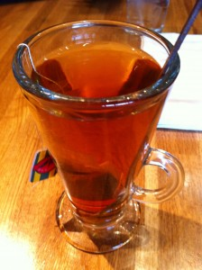 Hot Tea at Desta