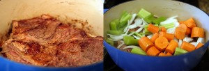 Garlicky Pot Roast and Veggies